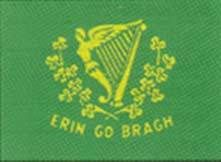 Irish American Flag - All our our Flags are made of cloth.