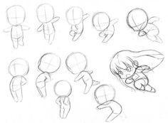 how to draw chibi bodies - Szukaj w Google