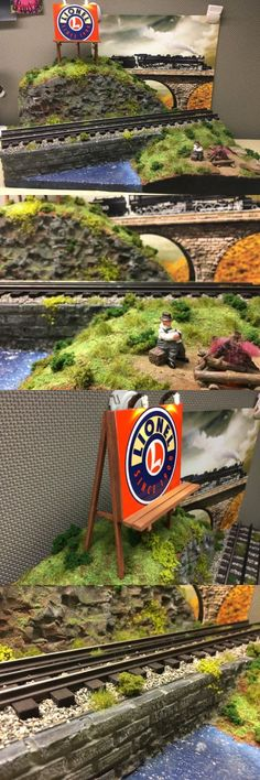 Buildings Tunnels and Bridges 99807: Scratch Built Lionel Trains Diorama O Scale W Flickering Hobo Campfire Led -> BUY IT NOW ONLY: $50.99 on eBay!