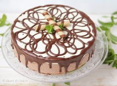 Tort cu mousse de ciocolata - Desert De Casa - Mara Popa Romanian Food, Pavlova, Dessert Recipes, Desserts, Something Sweet, Tiramisu, Sweet Treats, Pudding, Sweets