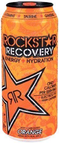 Rockstar Energy Drink, Orange Recovery, 16 Ounce (Pack of 24) by Rockstar, http://www.amazon.com/dp/B009A8FMQA/ref=cm_sw_r_pi_dp_BArLrb1VYWK5F