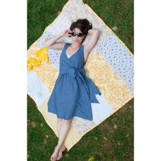 """Patron Sew Liberated """"Sunday picnic Blouse"""" Tailles 32 à 54"""
