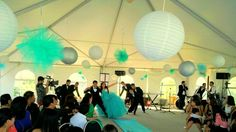 mint quinceanera decorations - Google Search