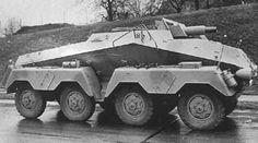 A SdKfz 233 armored car with short barrled 75mm gun