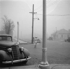 Dust storm, Amarillo, Texas    photo by Arthur Rothstein, 1936