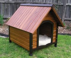 Dog Houses and Dog House Plans | Animals Library