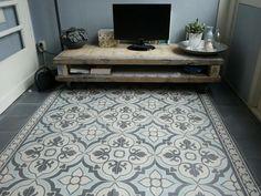 Portugese tegels FLOWERZ 4 Blue Version - Product in beeld - - Startpagina voor vloerbedekking ideeën | UW-vloer.nl