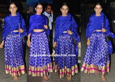 kangna ranaut in sanjay garg at bachchans diwali bash