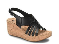 Korks-Anguilla Wedge Sandal The Anguilla wedge sandal from Korks will be perfect for a picnic in the park. The leather upper and chunky cork midsole give your entire ensemble a lift! Black Wedge Sandals, Black Wedges, Your Shoes, Women's Shoes, Picnic In The Park, Vintage Jeans, Shoe Collection, Other Accessories, Take That