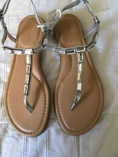 3e41f0bcf7 My NWT Rockport Jeanie Jeweled Glam Sandals In Sizes 7 & 8 One of Each