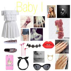 Baby I by luanamarinho on Polyvore featuring moda, Vans, Aamaya by priyanka, Wet Seal, yunotme, Sony and Lime Crime
