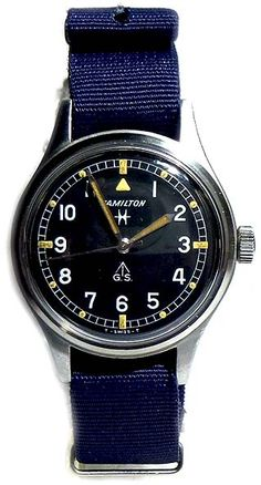 HAMILTON GS MILITARY TROPICALISED RARE FOR THE BRITISH FORCES CIRCA 1960S