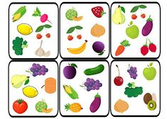 Dobble - Fruit and Vegetables Spot It, Learning Channel, Food Spot, English Fun, Healthy Eating Recipes, Fruits And Vegetables, Board Games, Kids Rugs, Creative