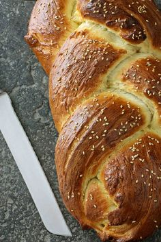 Challah Bread (Braided Egg Bread) for Hanukkah 2 by CookinCanuck, via Flickr
