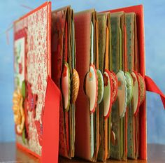 Mini Scrapbook Album Made Out Of Paper Bags Paper Bag Books, Paper Bag Crafts, Paper Bag Album, Book Crafts, Paper Bags, Chipboard Crafts, Scrapbooking Album, Paper Bag Scrapbook, Mini Scrapbook Albums