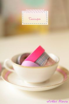 Letrero teacups