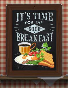 Kitchen Chalkboard-Chalkboard Food by TimelessMemoryPrints on Etsy