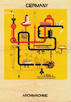 9   17 Posters Based On The Architecture Of 17 Nations   Co.Design   business + design