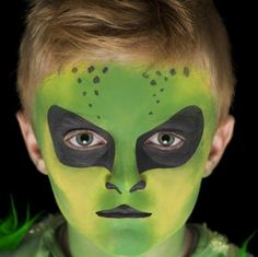 alien face painting - Google Search