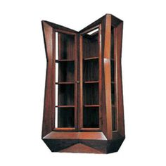JOSEF GOČÁR GLASS-FRONTED BOOKCASE, 1912 - CZECH 100 DESIGN ICONS