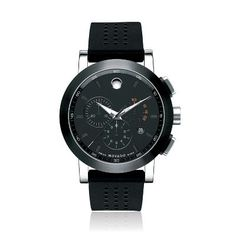 Movado® Museum Sport Stainless Steel Men's Watch, available at #HelzbergDiamonds