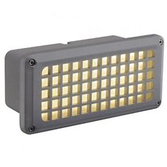 BRICK MESH LED, silbergrau, LED warmweiss / LED24-LED Shop