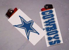 Looking for your next project? You're going to love Lighter Cover Pattern - Cowboys by designer Debby in Clearwater.