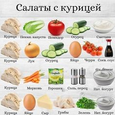 Diet Recipes, Salad Recipes, Cooking Recipes, Healthy Recipes, Gourmet Salad, Good Food, Yummy Food, Russian Recipes, C'est Bon