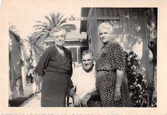 Black and White Vintage Snapshot Photograph Family Dress Porch Smile 1950'S | eBay