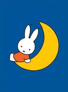 Dick Bruna's iconic illustrations of Miffy sitting on the moon with a blue background. Buy this Miffy mini poster today! Wish Gifts, Ligne Claire, Miffy, Cartoon Sketches, Poster Prints, Art Prints, Line Friends, Old Cartoons, Christmas Scenes