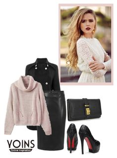 """""""YOINS CONTEST"""" by hanifasemic ❤ liked on Polyvore featuring мода"""
