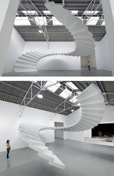 Beautiful Steps: Staircase Installations by Lang/Baumann