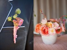 60s Mad Men Wedding Ideas. Love these colors!