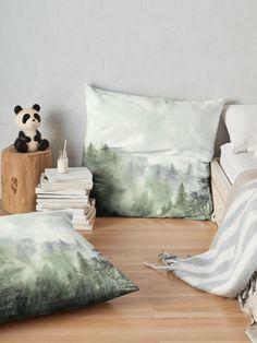 """After the evening rain"" Floor Pillow by victorsboutique | Redbubble"
