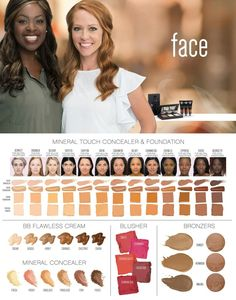 Touch Foundations www.blessedsouthernbeauty.com