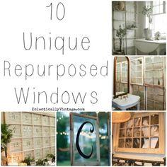 upcycled vintage windows