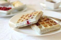 Gluten Free Raspberry Waffles - Officially Gluten Free Recipes
