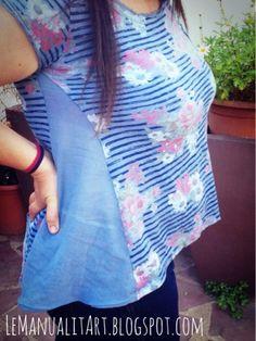 LeManualitArt: Cómo ensanchar una camiseta