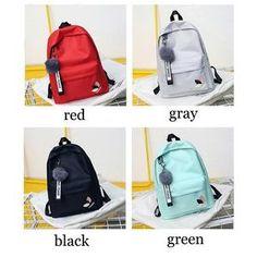 Cheap School Bags, School Bags For Girls, Backpack Organization, Green Girl, Gray Green, Backpack For Teens, Cool Backpacks, College Backpacks, Frocks For Girls