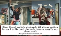 The old Disney Channel had real kids and now it's all about the fame as money.
