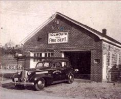 Falmouth Fire Dept. 1946 Fire Dept, Fire Department, Fredericksburg Virginia, Falmouth, Historical Photos, Colonial, Cabin, History, House Styles