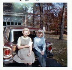 Sitting in the Station Wagon, 1963