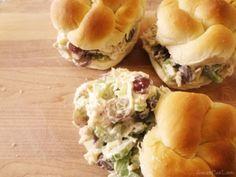 Chicken Salad Sandwich Recipe | Live Craft Eat