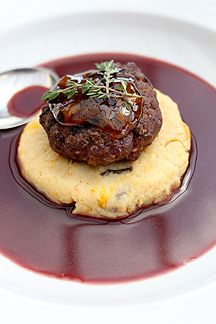Moroccan Ostrich on Fruity Mealie Meal in a Red Wine Jus Homemade Biscuits, Best Places To Eat, Restaurant Bar, Red Wine, Moroccan, Beef, Meals, Cooking, Breakfast