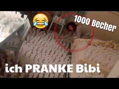 Ich PRANKE Bibi / 1000 Becher mit Wasser | Julienco - YouTube