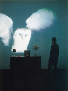 Bill Viola: The Sleep of Reason, Video Installation, 1988.  The combination of time based imagery and physical work really draws the viewer into an immersive experience.