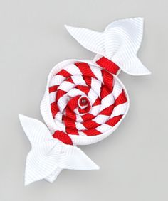 Take a look at this Red Swirl Candy Clip on zulily today!