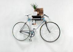 Bikeself is an unique way to hang your bike on the wall. More info www.bikeself.paavopaajanen.com