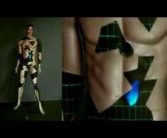 LCI - 3D Video Projection Mapping on Mannequin Michael - YouTube