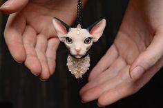 Fantasy Creature Jewelry Hand-Sculpted By Alina Sanina